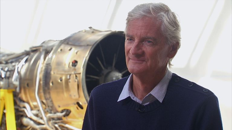 Sir James Dyson is a supporter of Brexit