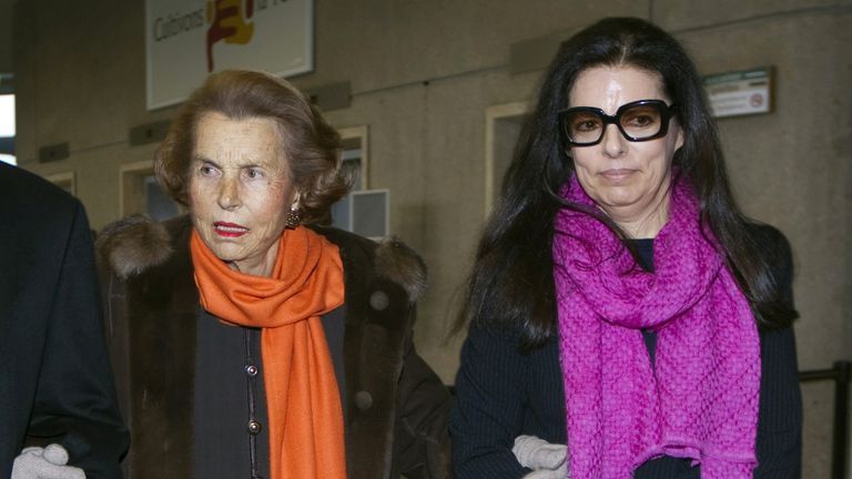 Liliane's daughter Francoise accused her mother's friend of fleecing her of her fortune