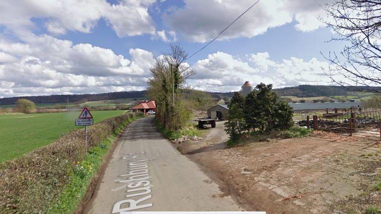 The boy was found dead near Church Stretton in Shropshire
