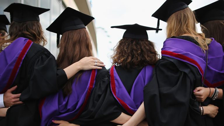 Graduates face a tougher time getting a well-paid job