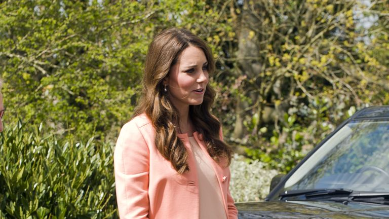 Kate was ill when she was pregnant with George