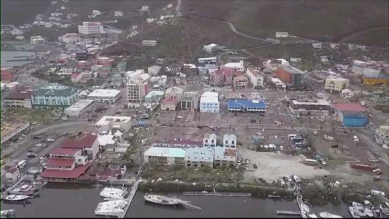 Hurricane Irma's devastation in the Caribbean