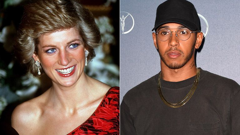 Lewis Hamilton said the 'world stood still' the day Diana died
