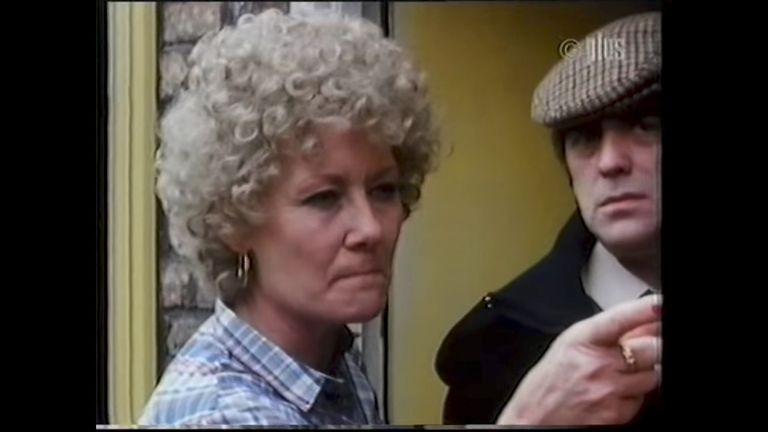 Liz Dawn as Vera Duckworth in Coronation Street