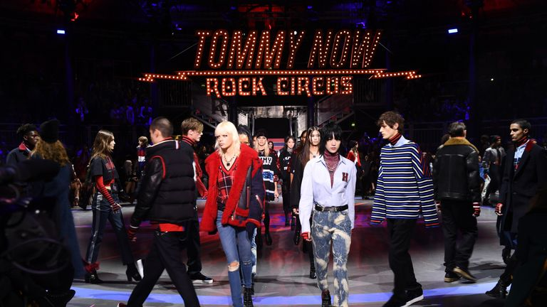 Tommy Hilfiger show at the Roundhouse
