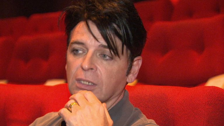 Gary Numan won the 'Tech Legend' award at the Oscars of Tech