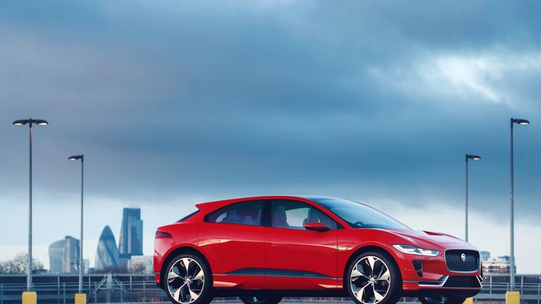 The Jaguar I-PACE sports car is now being built at production facilities in Austria.