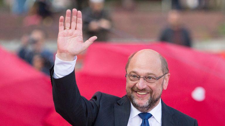 Martin Schulz, chancellor candidate of the German Social Democrats (SPD)