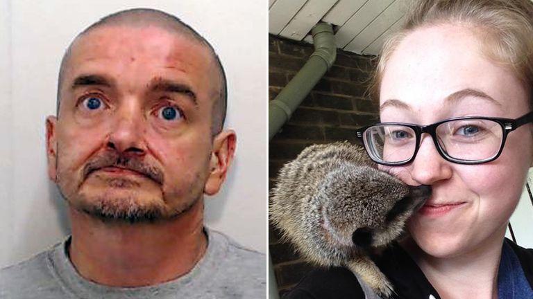 Mark Buckley has been jailed for the 'brutal' murder of Ellen Higginbottom