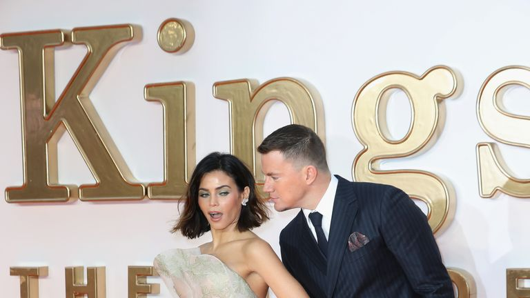 Actor Channing Tatum and Jenna Dewan Tatum