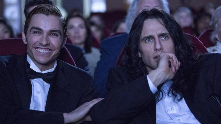 The Disaster Artist - Franco playing a failed director has been hailed as his best work