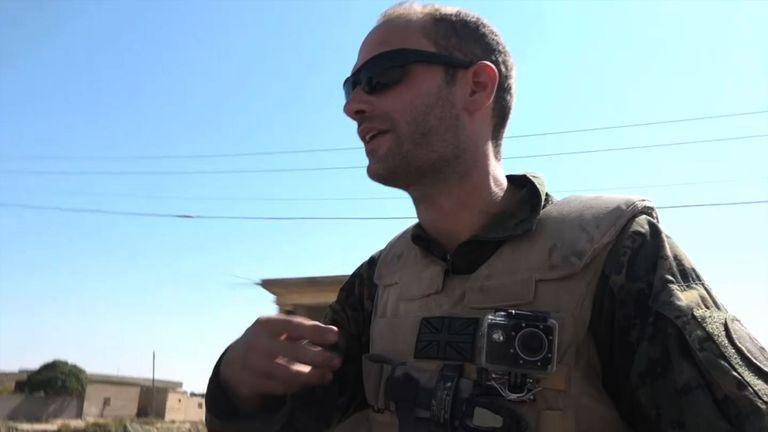 Macer Gifford in Raqqa