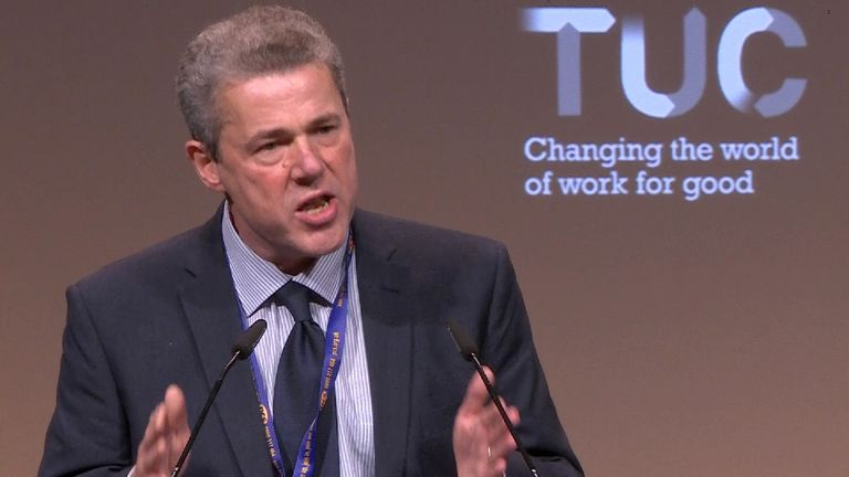PCS union leader Mark Serwotka