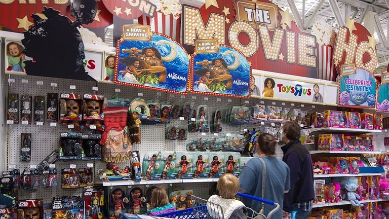 Toys R Us  employs 64,000 staff worldwide
