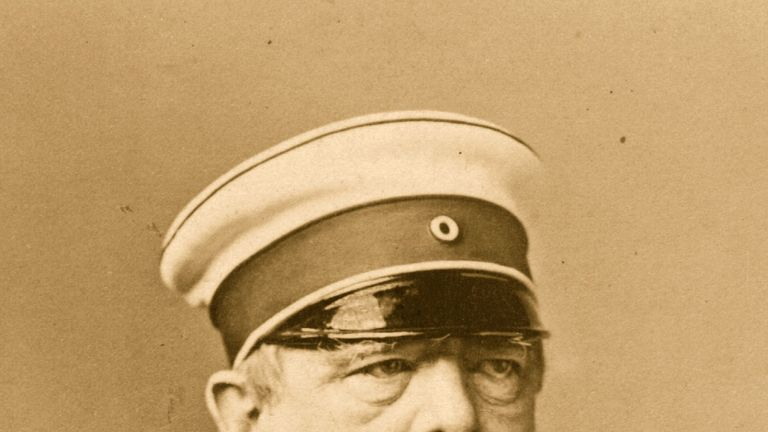 Otto Eduard Leopald von Bismarck-Schonhausen, Prussian statesman and first Chancellor of the German Empire. Original Artwork: By Loescher & Petsch. (Photo by Hulton Archive/Getty Images)