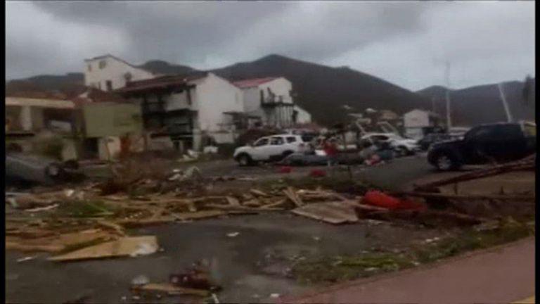 The British Virgin Islands have been hit hard by Hurricane Irma