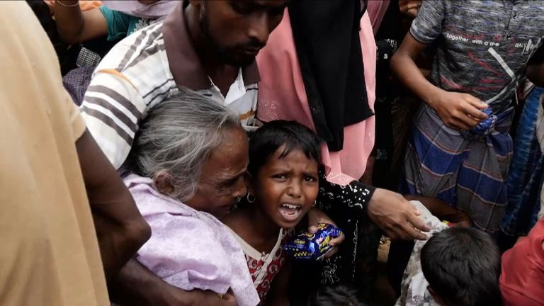 The treatment of the Rohingyas has been described as 'a textbook example of ethnic cleansing'