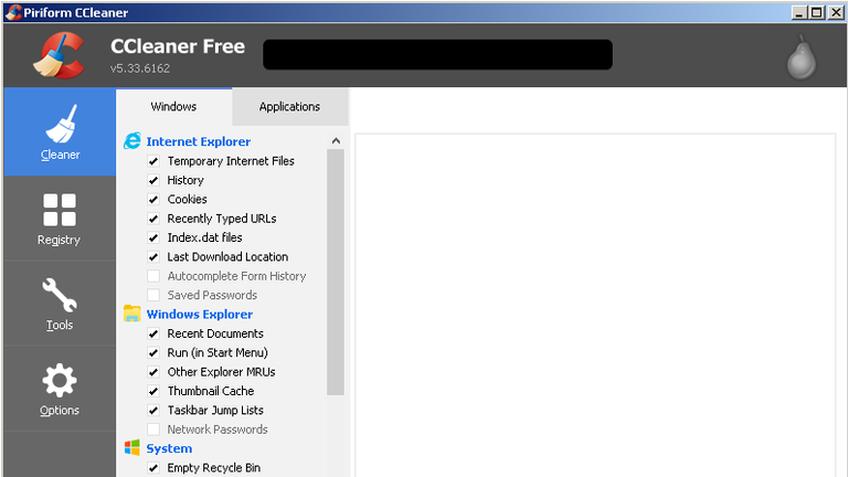 A screenshot of CCleaner. Pic: Talos/Cisco
