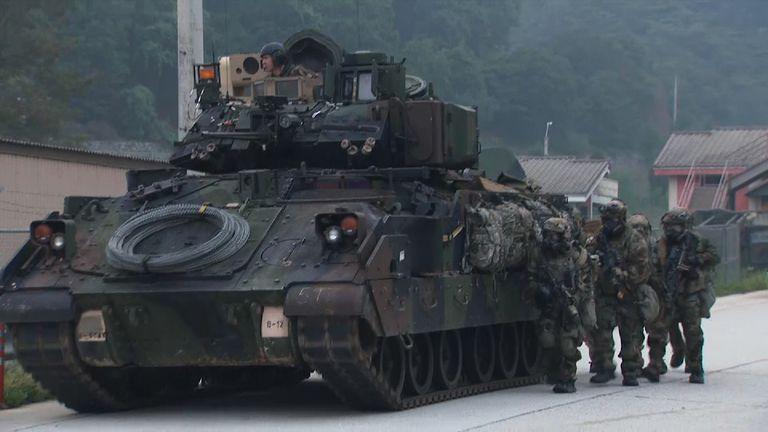 US-South Korea drills