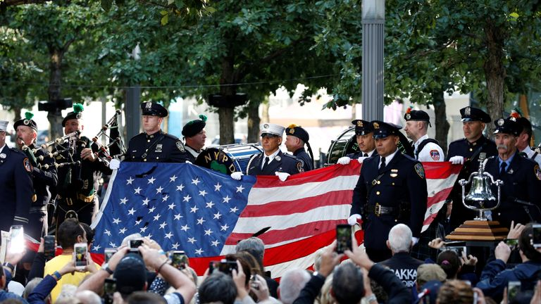 9/11 ceremony in New York