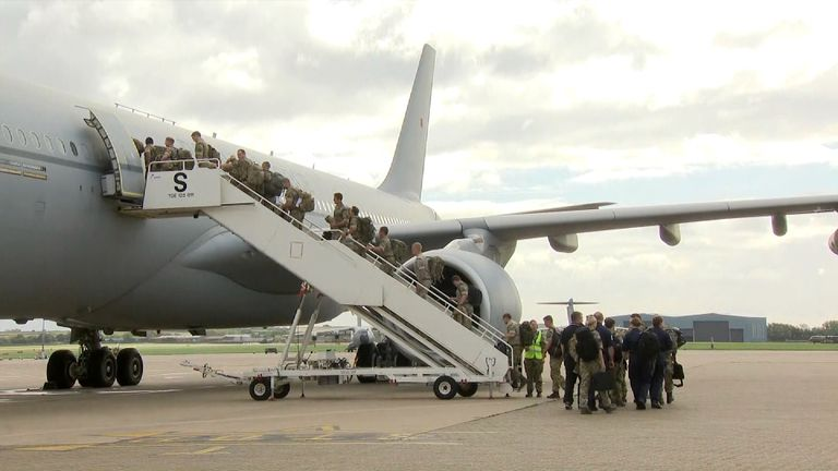 The UK Government has already pledged £32m to help the relief effort