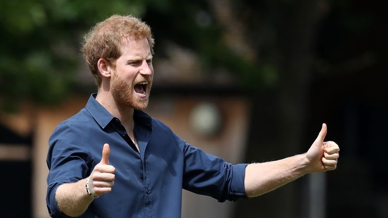 The baby will push Prince Harry down to sixth in line to the throne