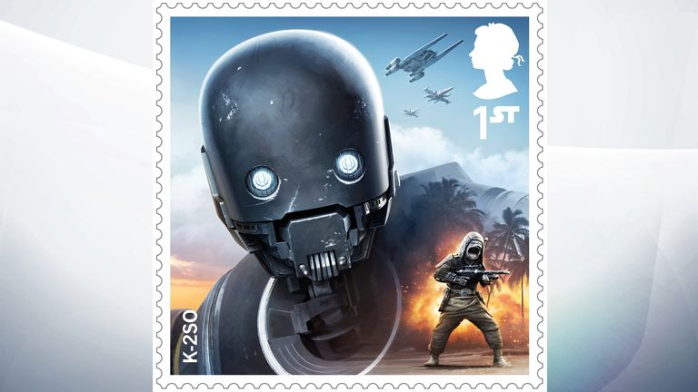 K-2SO is a reprogrammed Impersial security droid on the side of the Rebel Alliance