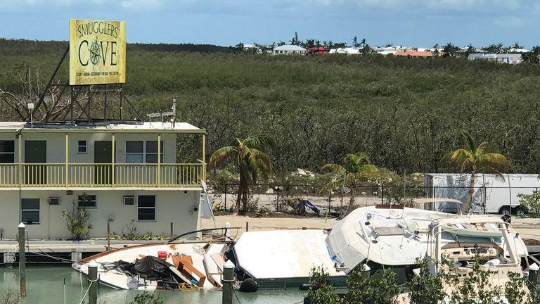 Isamorada, a village encompassing six of the Florida Keys