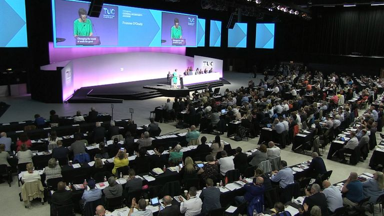TUC Congress in Brighton