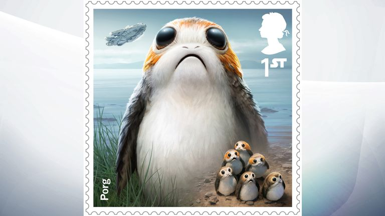 Porg are small flightless birds native to the remote planet Ahch-To, where Luke Skywalker is living in exile