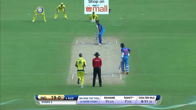 India V Aus 2nd Odi Highlights