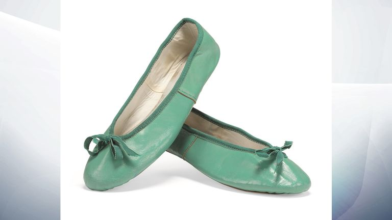 Three pairs of leather ballet pumps - Estimate between £6,000 - 9,000