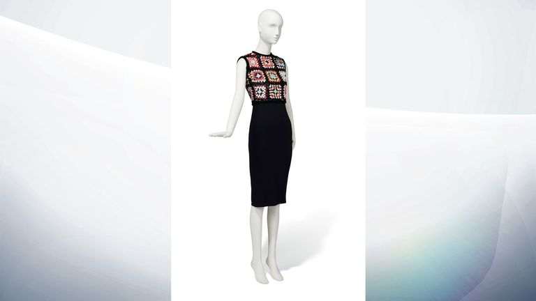 1963 Givenchy Couture black satin cocktail gown - Estimate: £50,000-80,000
