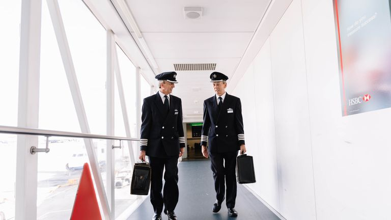 The brothers have flown 45,000 hours between them