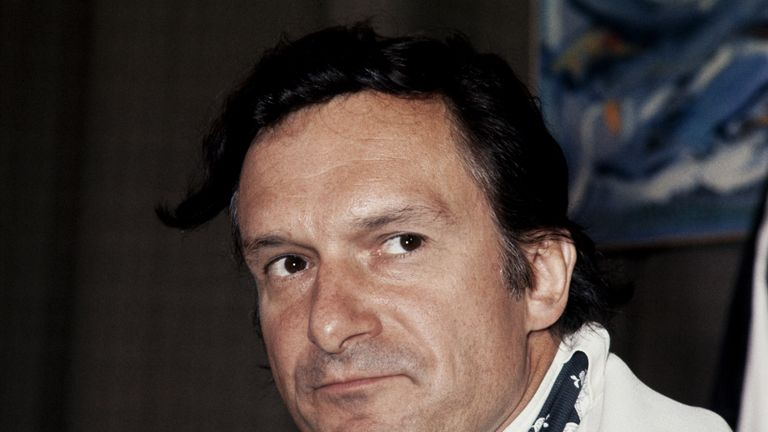 Hefner pictured in August, 1970