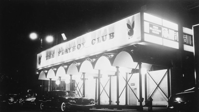 This Playboy Club in New York opened in 1962 - two years after Hefner's first club in Chicago