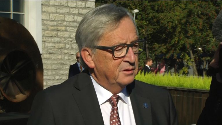European Commission president Jean-Claude Juncker says a 'miracle' is needed for Brexit talks progress.