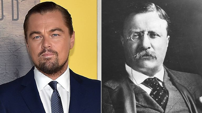 Leonardo DiCaprio and Teddy Roosevelt