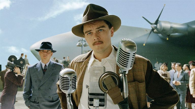 DiCaprio in The Aviator