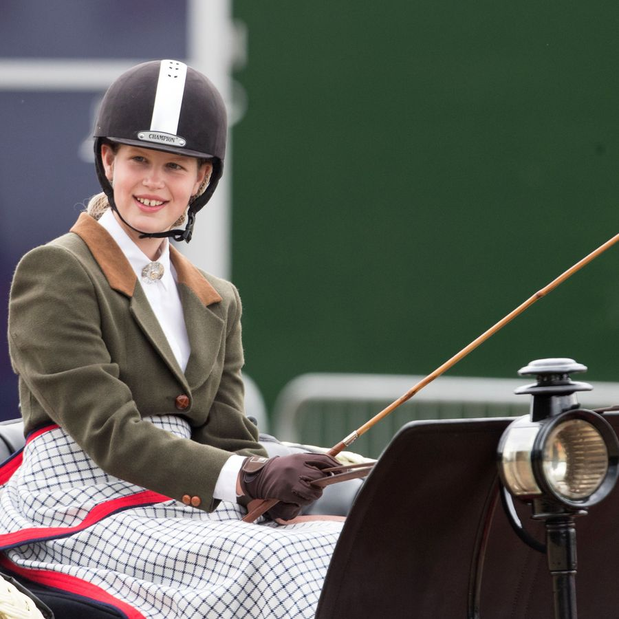 Lady Louise Windsor competes in the British Driving Society championship