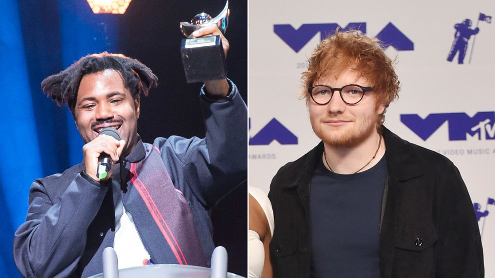 Sampha and Ed Sheeran