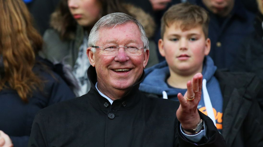 Manchester City manager Pep Guardiola sends 'big hug' to friend Alex Ferguson