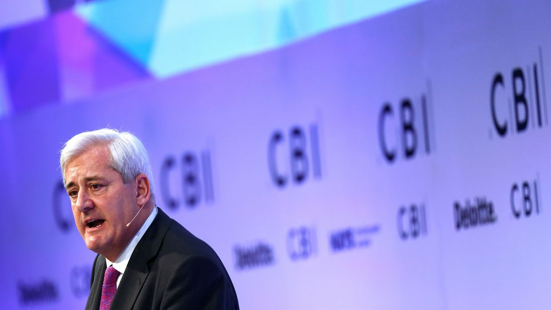 President of the Confederation of British Industry (CBI) Paul Drechsler