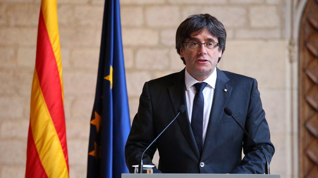 Image result for Carles Puigdemont
