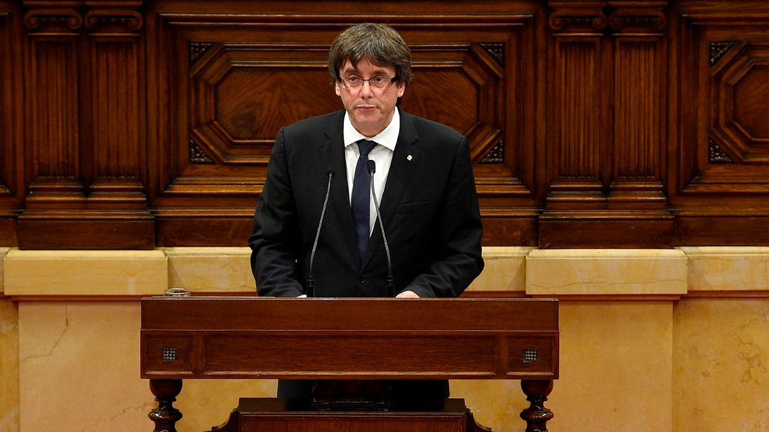 Cataluña 'to declare independence' if Spain cancels region's autonomy — DECISION DAY