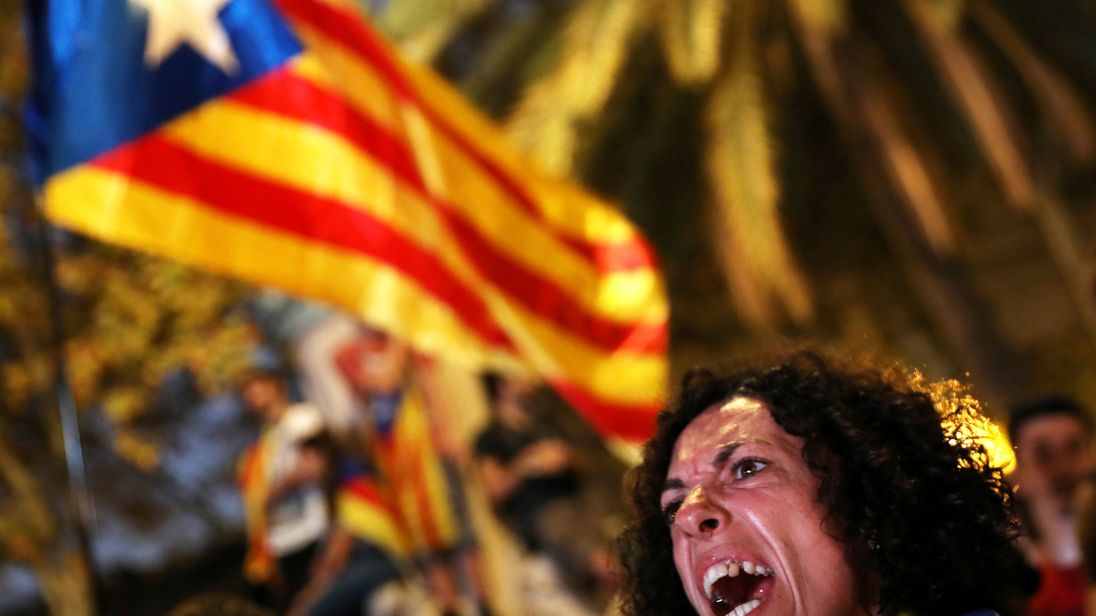 Separatists have called for immediate talks with Madrid