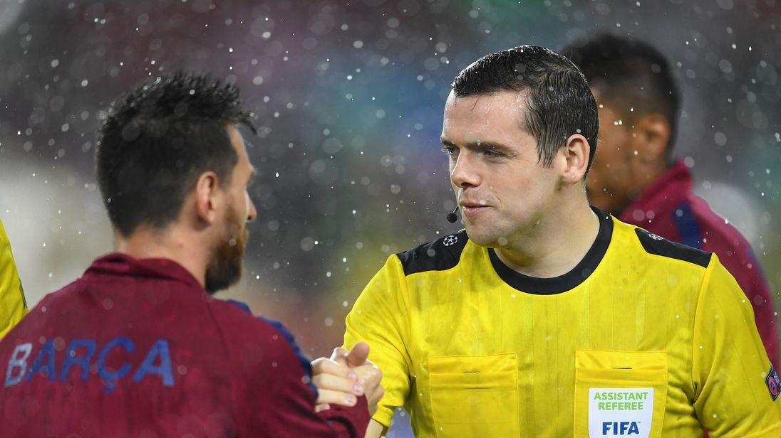 Referee Tory MP Douglas Ross to miss World Cup