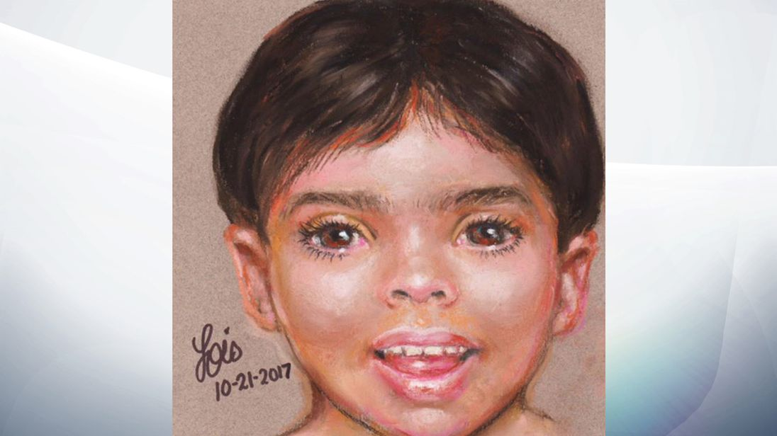 Police release sketch of boy found dead on Galveston beach