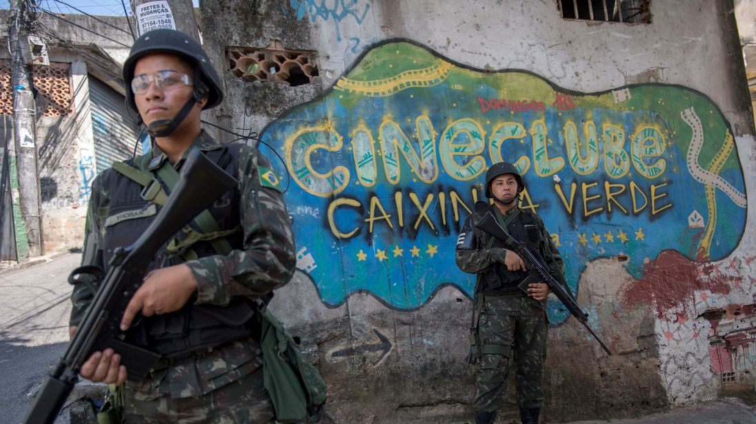 Military incursions that go beyond surrounding the favela are unusual