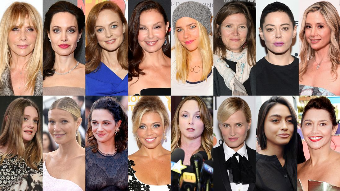 Harvey Weinstein accusers